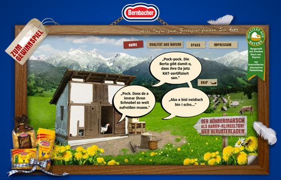 Bernbacher Flash Homepage