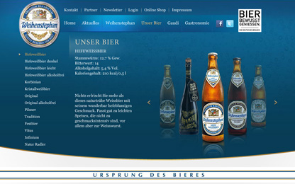 All about Weihenstephan beer.