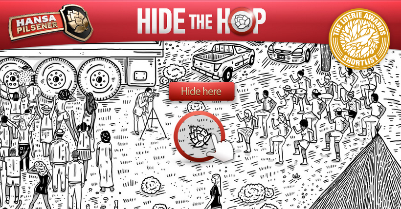 Viral online game Hansa Hide the Hop in HTML5