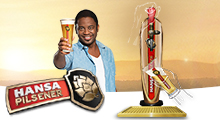 Hansa Pourfection is a viral online promotion in Flash